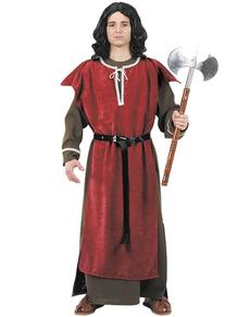 Middeleeuwse ridder kostuum