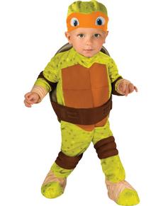 Kostuum Mikey Ninja Turtles voor baby's