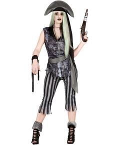 Spook zeerover piraat kostuum voor vrouwen