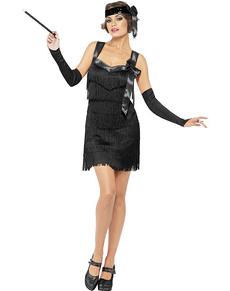Kostuum charleston jaren 20 Fever voor vrouwen