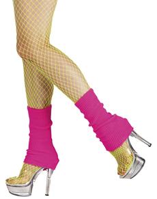 Roze beenwarmers voor vrouwen
