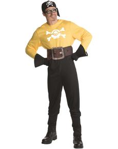 Kostuum Minions Piraat voor volwassenen