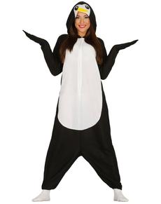 Kostuum pijama beeldige pinguïn voor vrouwen