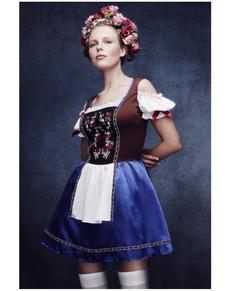 Interessant beiers kostuum voor vrouwen