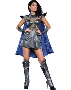 Kostuum sexy ridder voor vrouwen