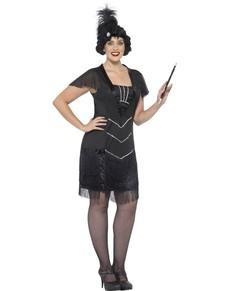 Cabaret meisje kostuum voor vrouwen
