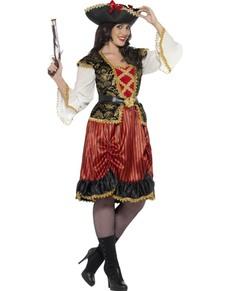 Lady piraat kostuum voor vrouwen